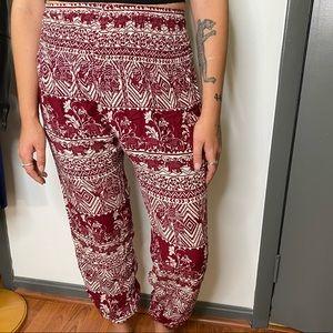 Boho Haram Pants From Thailand